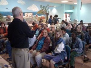 Sanford Rosenthal teaches PAIRS class