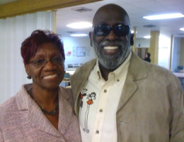 Shirley Johnson and T. Williard Fair