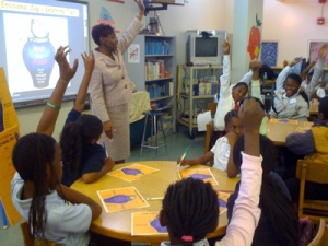 Dr. Shirley Johnson at Liberty City Elementary School