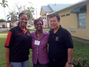 PAIRS Foundation, Miami Dade Schools and Urban League officials at McDuffie Center