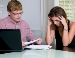 Financial stress on couples