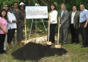 Groundbreaking for Barbara Carey Shuler Manor, June 18, 2010
