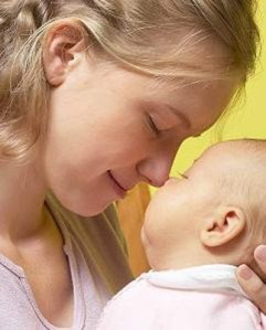 Kate Ogg and Baby Jaime