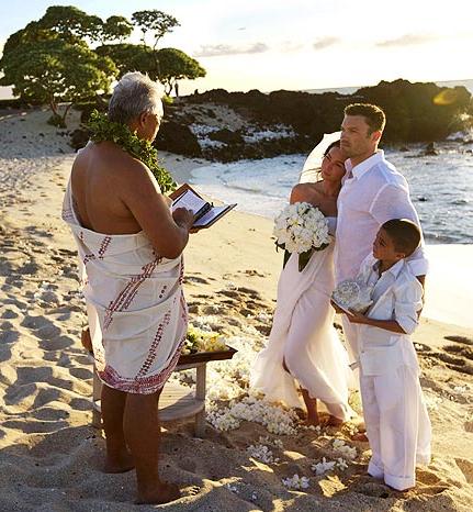Megan Fox and Brian Green Wedding