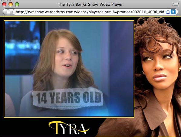 Tyra Banks Teen Pregnancy