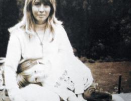 Cynthia and Julian Lennon at Kenwood in 1968