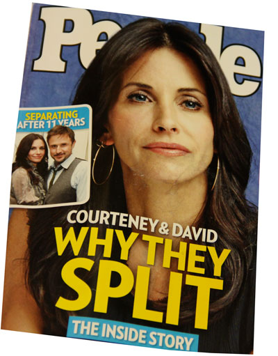 Courtney Cox and David Arquette Breakup