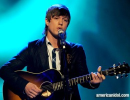 "Alex Lambert singing ""Trouble"" on American Idol"