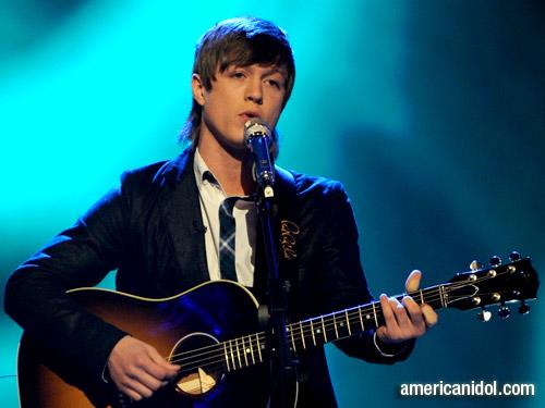 "Alex Lambert singing ""Trouble"" on American Idol"