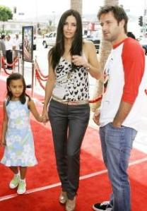 David Arquette, Courteney Cox and daughter, Coco