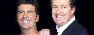 Simon Cowell and Piers Morgan
