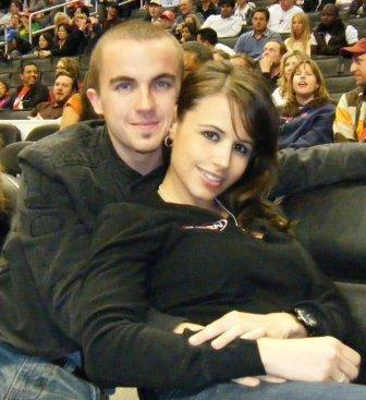 Frankie Muniz and Elycia Turnbow