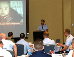 Annual Coast Guard Chaplain Meeting Tampa