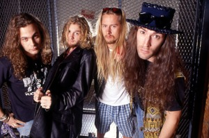 Mike Starr Layne Staley Jerry Cantrell Sean Kinney Alice in Chains
