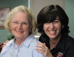 Hampton VA Chief of Chaplain Services Sue Cross and Lauren DelGandio