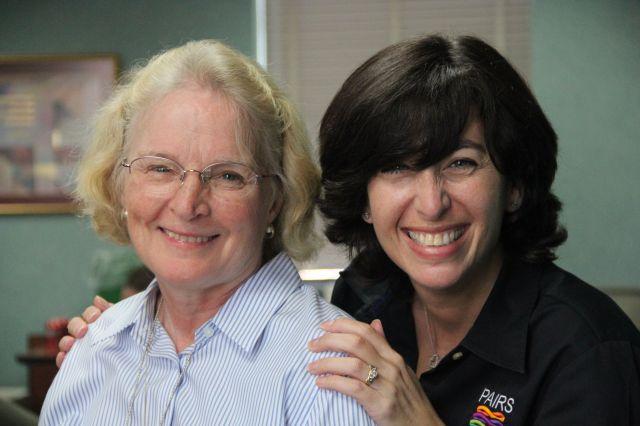 Hampton VA Chief of Chaplain Services Sue Cross and Lauren DelGandio