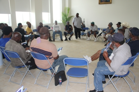 Clifford Johnson leads resiliency class for Veterans in Miami