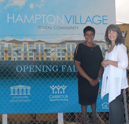 Hampton Village Groundbreaking