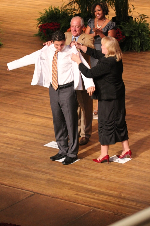 Edward Via College of Osteopathic Medicine (VCOM) White Coat Ceremony Class of 2016