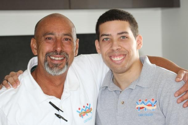 Miguel Marquez with Emilio Espino