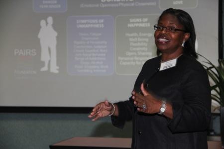 Sharon Wheaton Teaches PAIRS Relationship Road Map