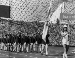 Israel's 1972 Olympic team in Munich.