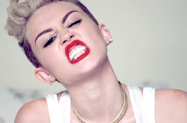 Miley Cyrus is not a little girl anymore