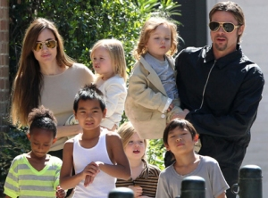 Brad Pitt loves fatherhood