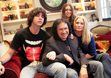 Gene Simmons and Family