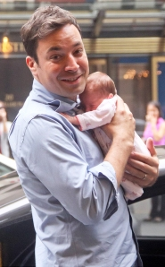 Jimmy Fallon and Winnie Rose Fallon