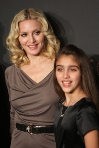 Madonna and daughter
