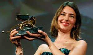 Sofia Coppola at Venice Film Festival.