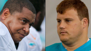 Jonathan Martin and Richie Incognito.