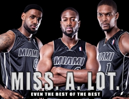 LeBron James, Dwayne Wade, Chris Bosh