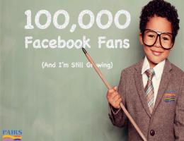 100000 Facebook Fans