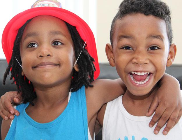 Norman-Coleman-Grandsons