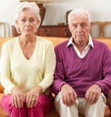 Seniors fear of rocking the boat may be getting in the way of happier marriages.