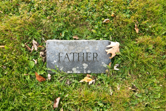Dad's tombstone