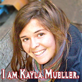 Facebook Profile Picture: I am Kayla Mueller.